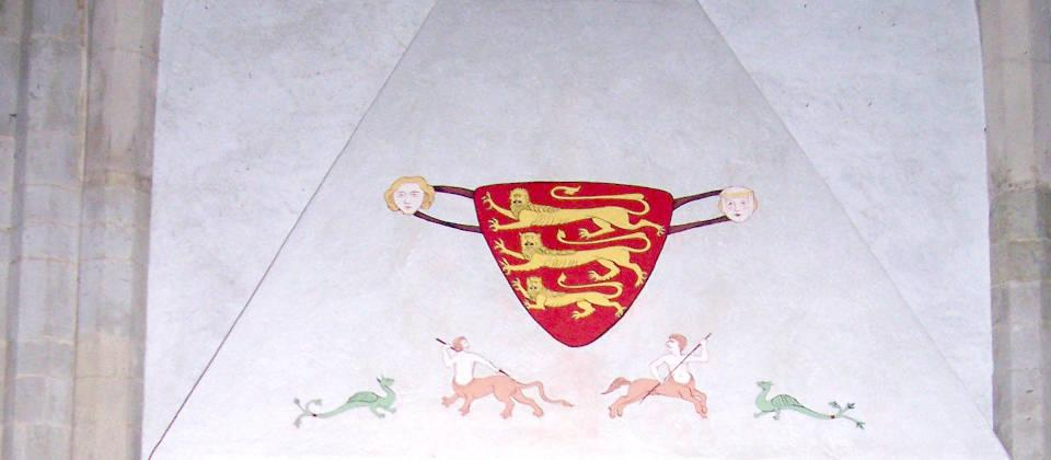 Heraldic painting: LV Stevens Decorworks skilfully and creatively applies finishes and techniques like Heraldic painting to buildings ancient and modern to restore, renovate or update their interior decor.