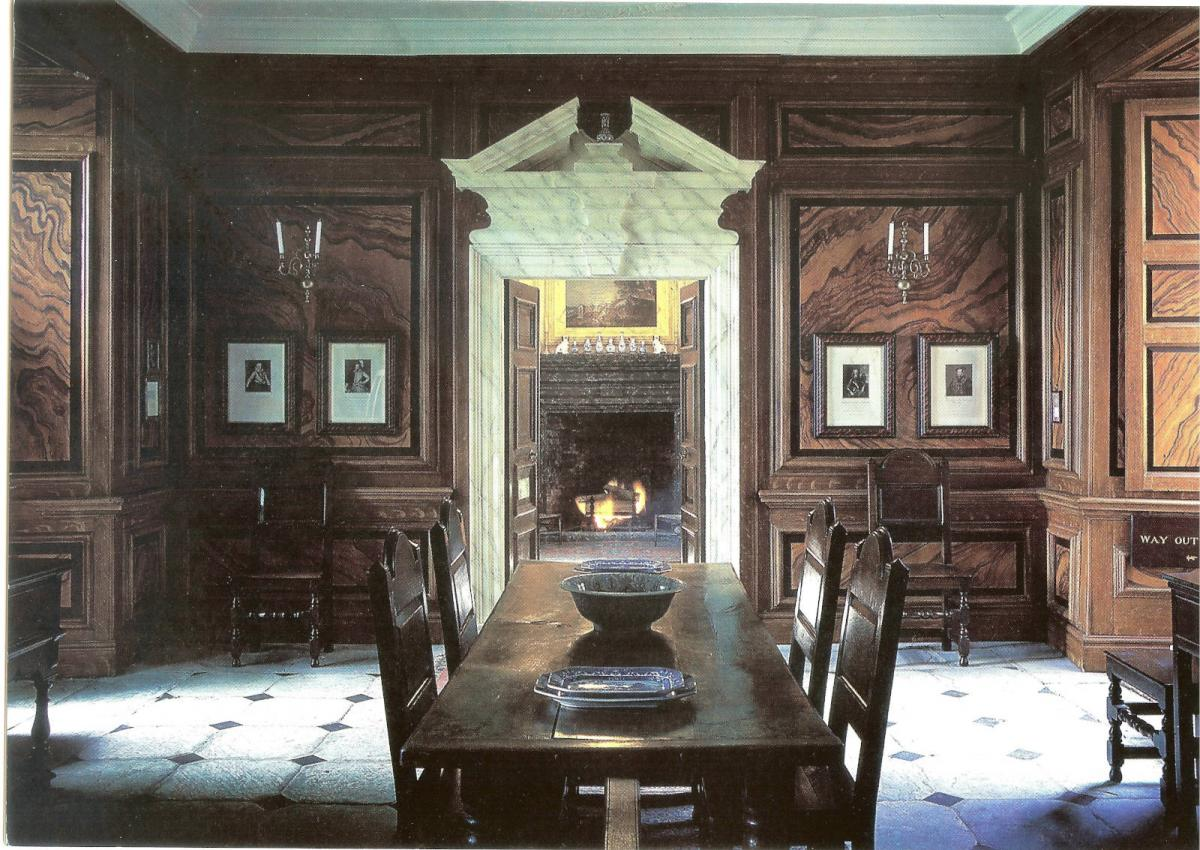 Image details: The Dining Room at Penhow Castle