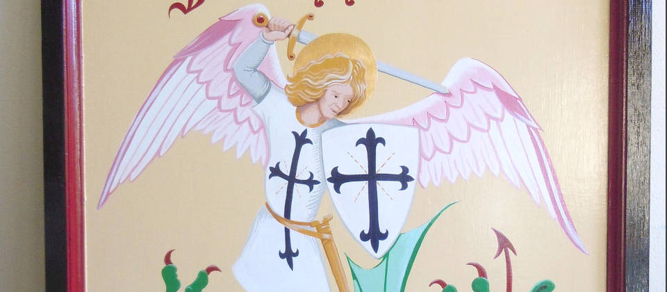 Image details: Traditional pub sign for the Angel Inn