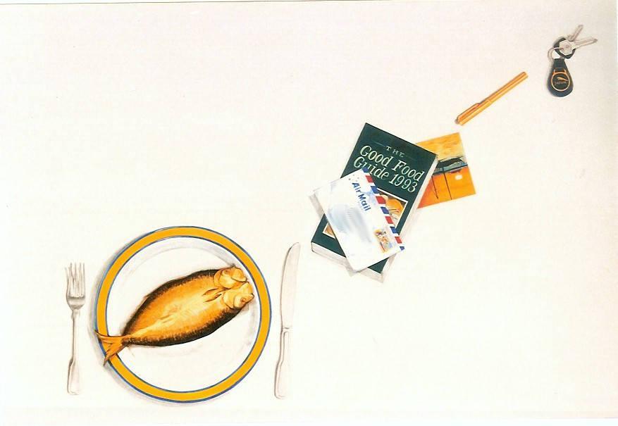 Image details: Trompe l'Oeil table top